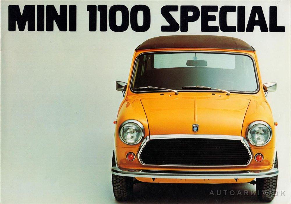 19771 Mini 1100 Special Ch Cat 177 325001wdw