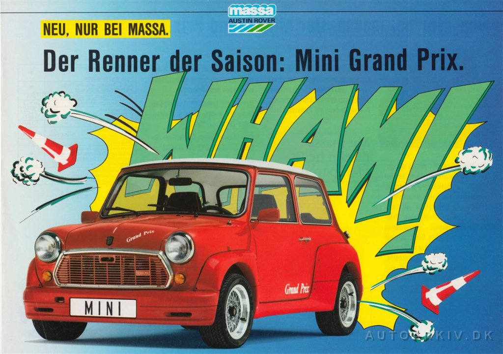 1986 Mini Massa Grand Prix De Sheet